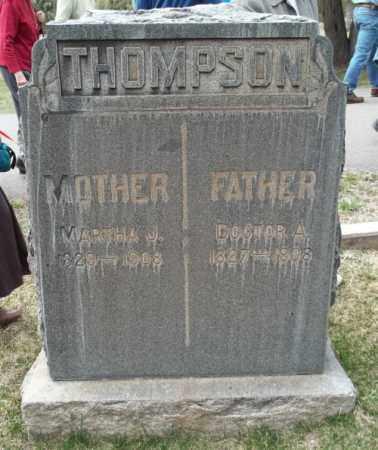 DANIELS THOMPSON, MARTHA JANE - La Plata County, Colorado | MARTHA JANE DANIELS THOMPSON - Colorado Gravestone Photos