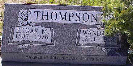 THOMPSON, WANDA - La Plata County, Colorado | WANDA THOMPSON - Colorado Gravestone Photos