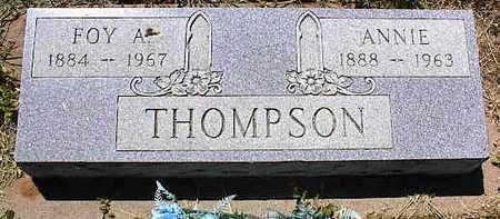 THOMPSON, FOY A. - La Plata County, Colorado | FOY A. THOMPSON - Colorado Gravestone Photos