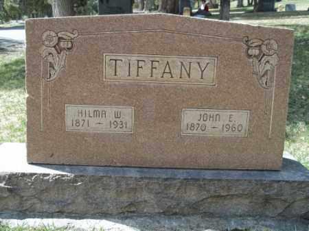 TIFFANY, JOHN E. - La Plata County, Colorado   JOHN E. TIFFANY - Colorado Gravestone Photos