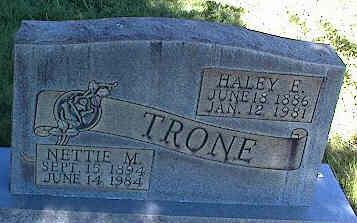 TRONE, HALEY F. - La Plata County, Colorado | HALEY F. TRONE - Colorado Gravestone Photos