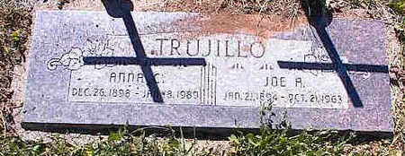 TRUJILLO, ANNA C. - La Plata County, Colorado | ANNA C. TRUJILLO - Colorado Gravestone Photos