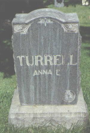 TURRELL, ANNA E. - La Plata County, Colorado   ANNA E. TURRELL - Colorado Gravestone Photos