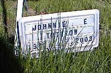 TUTTROW, JOHNNIE E. - La Plata County, Colorado | JOHNNIE E. TUTTROW - Colorado Gravestone Photos