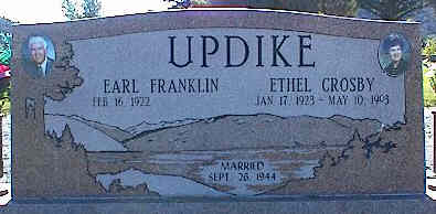 UPDIKE, EARL FRANKLIN - La Plata County, Colorado | EARL FRANKLIN UPDIKE - Colorado Gravestone Photos