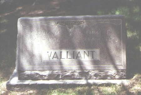VALLIANT, WILLIAM M. - La Plata County, Colorado | WILLIAM M. VALLIANT - Colorado Gravestone Photos