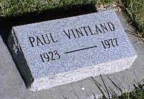 VINTLAND, PAUL - La Plata County, Colorado | PAUL VINTLAND - Colorado Gravestone Photos