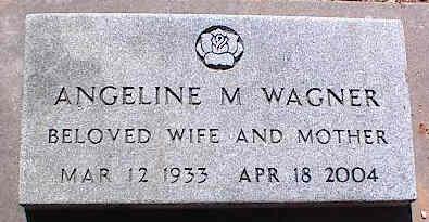 WAGNER, ANGELINE M. - La Plata County, Colorado | ANGELINE M. WAGNER - Colorado Gravestone Photos