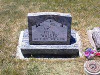 WALKER, RAY M. - La Plata County, Colorado | RAY M. WALKER - Colorado Gravestone Photos