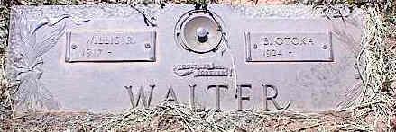 WALTER, WILLIE R. - La Plata County, Colorado | WILLIE R. WALTER - Colorado Gravestone Photos
