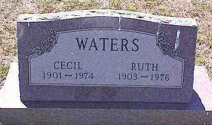 WATERS, CECIL - La Plata County, Colorado | CECIL WATERS - Colorado Gravestone Photos