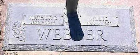 WEBBER, ARTHUR B. - La Plata County, Colorado | ARTHUR B. WEBBER - Colorado Gravestone Photos