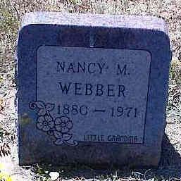 WEBBER, NANCY M. - La Plata County, Colorado   NANCY M. WEBBER - Colorado Gravestone Photos