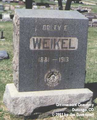 WEIKEL, ORLEY E. - La Plata County, Colorado | ORLEY E. WEIKEL - Colorado Gravestone Photos