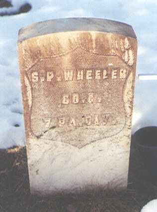 WHEELER, S. P. - La Plata County, Colorado | S. P. WHEELER - Colorado Gravestone Photos