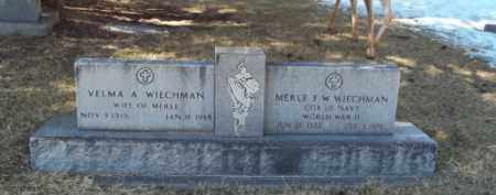 WIECHMAN, VELMA A. - La Plata County, Colorado | VELMA A. WIECHMAN - Colorado Gravestone Photos