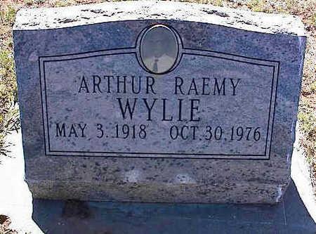 WYLEY, ARTHUR RAEMY - La Plata County, Colorado   ARTHUR RAEMY WYLEY - Colorado Gravestone Photos