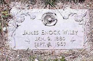 WILEY, JAMES ENOCK - La Plata County, Colorado | JAMES ENOCK WILEY - Colorado Gravestone Photos