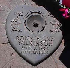 WILKINSON, RONNIE ANN - La Plata County, Colorado   RONNIE ANN WILKINSON - Colorado Gravestone Photos