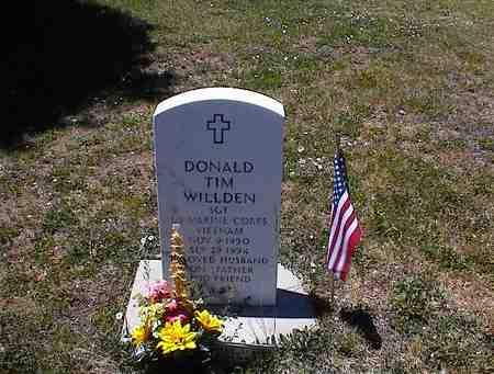 WILLDEN, DONALD TIM - La Plata County, Colorado | DONALD TIM WILLDEN - Colorado Gravestone Photos
