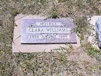 WILLIAMS, CLARA - La Plata County, Colorado | CLARA WILLIAMS - Colorado Gravestone Photos