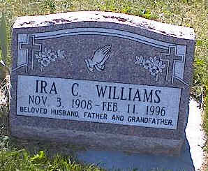 WILLIAMS, IRA C. - La Plata County, Colorado | IRA C. WILLIAMS - Colorado Gravestone Photos