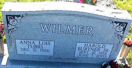 TUBBS WILMER, ANNA LOIS - La Plata County, Colorado   ANNA LOIS TUBBS WILMER - Colorado Gravestone Photos