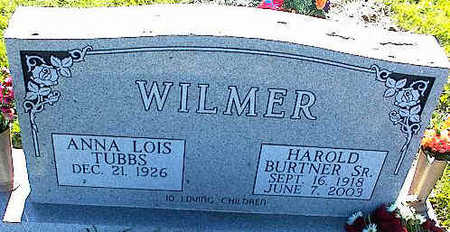 WILMER, HAROLD BURTNER, SR. - La Plata County, Colorado | HAROLD BURTNER, SR. WILMER - Colorado Gravestone Photos