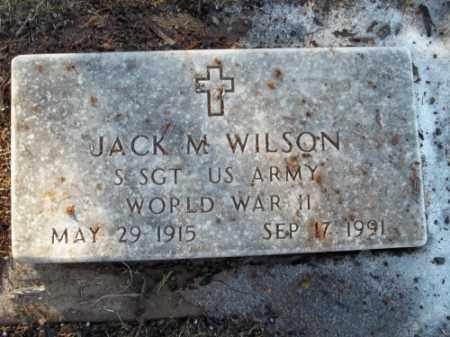 WILSON, JACK M. - La Plata County, Colorado | JACK M. WILSON - Colorado Gravestone Photos