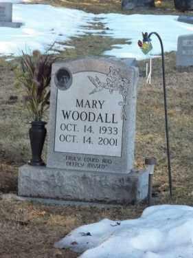 WOODALL, MARY - La Plata County, Colorado   MARY WOODALL - Colorado Gravestone Photos