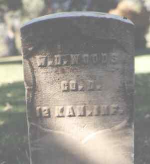 WOODS, W. D. - La Plata County, Colorado | W. D. WOODS - Colorado Gravestone Photos