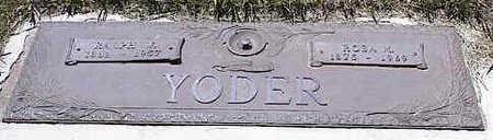 YODER, ROSA M. - La Plata County, Colorado | ROSA M. YODER - Colorado Gravestone Photos