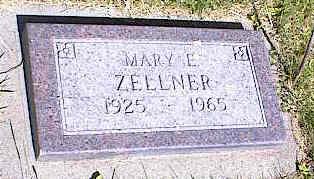 ZELLNER, MARY E. - La Plata County, Colorado | MARY E. ZELLNER - Colorado Gravestone Photos