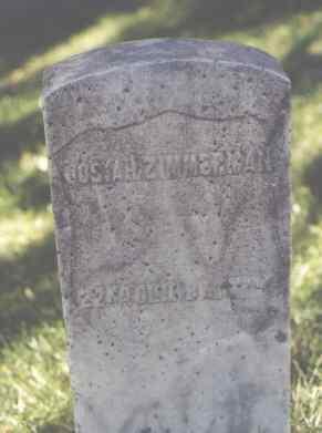 ZIMMERMAN, JOSIAH - La Plata County, Colorado | JOSIAH ZIMMERMAN - Colorado Gravestone Photos