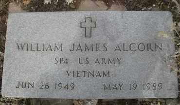 ALCORN, WILLIAM JAMES - Larimer County, Colorado | WILLIAM JAMES ALCORN - Colorado Gravestone Photos