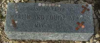 ARAGON, INFANT DAUGHTER - Larimer County, Colorado | INFANT DAUGHTER ARAGON - Colorado Gravestone Photos