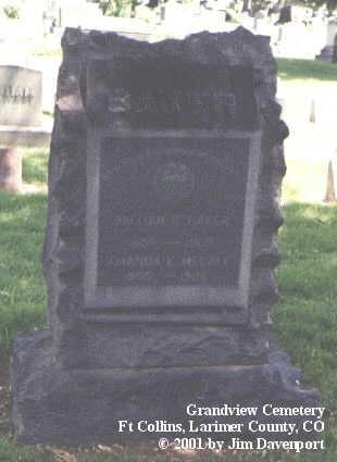MCCALL, AMANDA E. - Larimer County, Colorado | AMANDA E. MCCALL - Colorado Gravestone Photos