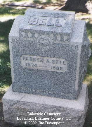 BELL, PARKER A. - Larimer County, Colorado   PARKER A. BELL - Colorado Gravestone Photos