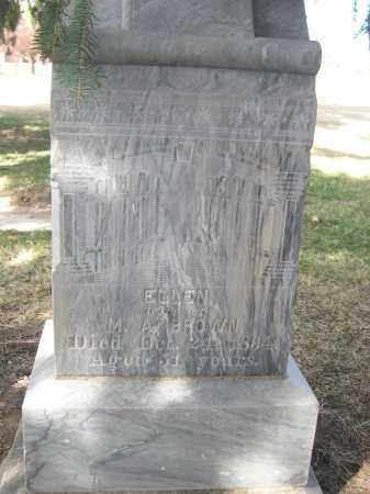 BROWN, ELLEN - Larimer County, Colorado   ELLEN BROWN - Colorado Gravestone Photos