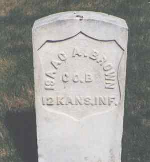 BROWN, ISAAC A. - Larimer County, Colorado | ISAAC A. BROWN - Colorado Gravestone Photos