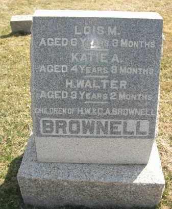 BROWNELL, KATIE A. - Larimer County, Colorado | KATIE A. BROWNELL - Colorado Gravestone Photos