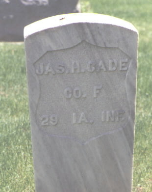 CADE, JAS. H. - Larimer County, Colorado | JAS. H. CADE - Colorado Gravestone Photos