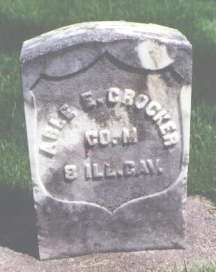 CROCKER, ABLE E. - Larimer County, Colorado | ABLE E. CROCKER - Colorado Gravestone Photos