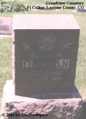 CURRAN, SAMUEL C. - Larimer County, Colorado   SAMUEL C. CURRAN - Colorado Gravestone Photos