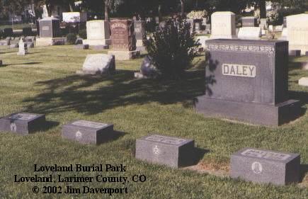 DALEY, PLOT - Larimer County, Colorado | PLOT DALEY - Colorado Gravestone Photos