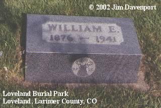 DALEY, WILLIAM E. - Larimer County, Colorado | WILLIAM E. DALEY - Colorado Gravestone Photos