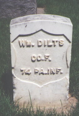 DILTS, WM. - Larimer County, Colorado | WM. DILTS - Colorado Gravestone Photos