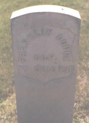 DODGE, FRANKLIN - Larimer County, Colorado | FRANKLIN DODGE - Colorado Gravestone Photos