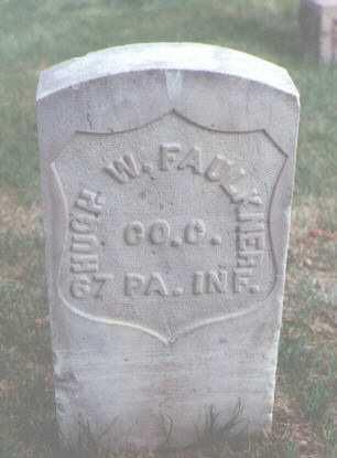 FAULKNER, HUGH W. - Larimer County, Colorado | HUGH W. FAULKNER - Colorado Gravestone Photos