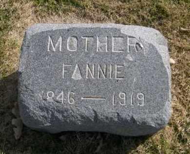 HUCKINS, FANNIE - Larimer County, Colorado | FANNIE HUCKINS - Colorado Gravestone Photos
